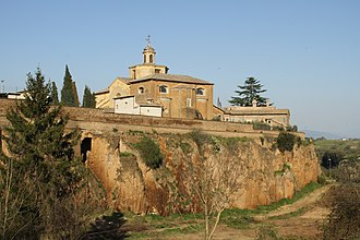 Province of Viterbo - Image: Vista di Civita Castellana