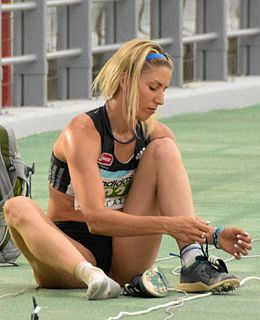 Paraskevi Papachristou Greek triple jumper