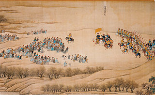 The Kangxi Emperor's Southern Inspection Tour, Scroll Two: Pingyuan to Ji'nan