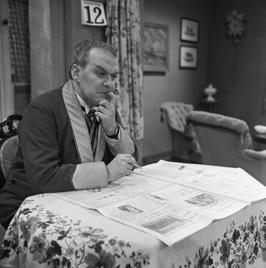 Ab Hofstee in de televisieserie Vrouwtje Bezemsteel (1965)