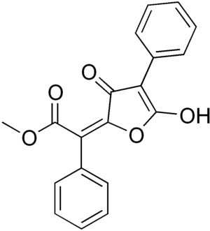 Vulpinic acid - Image: Vulpinic acid