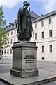 Würzburg - Statue Julius Echter von Mespelbrunn Front.jpg