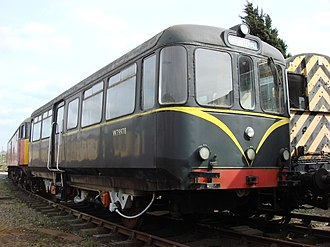 British Rail railbuses - Number W79978 at the Colne Valley Railway