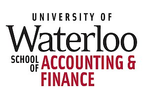 University of Waterloo School of Accounting and Finance