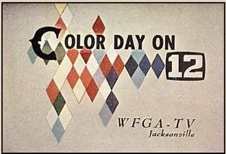WTLV - Early color television ID for WFGA-TV