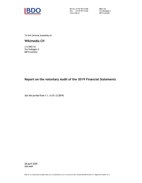 File:WMCH - Audit report and financial statements 2018.pdf