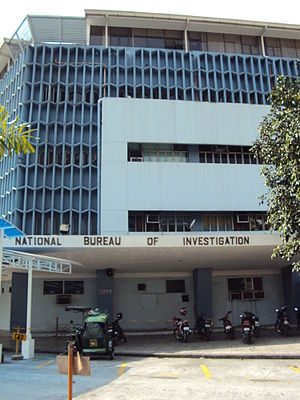 National Bureau of Investigation (Philippines) - NBI main office at Taft Avenue, Manila.