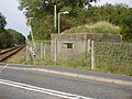 WW2 Pillbox at Level Crossing. - geograph.org.uk - 549334.jpg