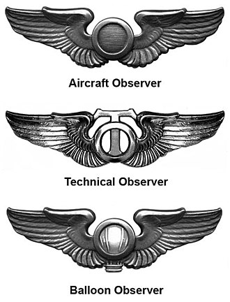 Observer Badge - Image: WWII Ob Badges