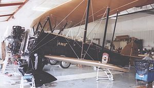 Northwest Airlines - 1929 Northwest Airways Waco JYM used on the Minneapolis-Chicago mail route