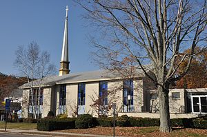 Greenwood Union Church - The new portion of the church