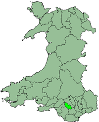Rhondda as a district 1974 - 1996