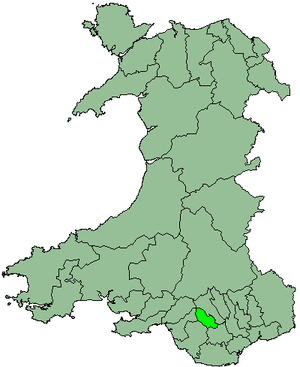 District of Rhondda - Rhondda as a district 1974 - 1996