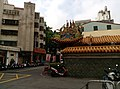 Wall of a temple in North District Taichung.jpg