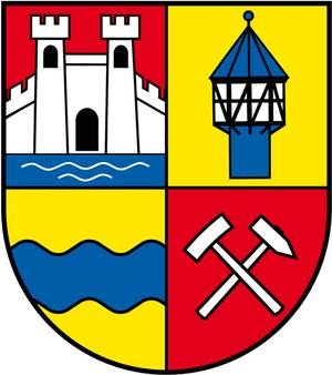 Bördeaue - Image: Wappen Gemeinde Boerdeaue