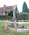 War Memorial, Minstead - geograph.org.uk - 1035977.jpg