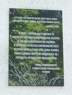 Massacre in the Mokotów prison