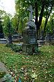Warszawa Reduta Wolska - cmentarz prawosławny - nagrobek z 1894 roku 02.JPG