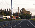 Washington State Route 92 heading southwest near 84th St NE.jpg