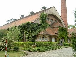 Wasserwerk in Hattersheim am Main, erbaut 1905/1909, Jugendstil
