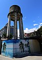 Water tower (the taller one) at the Former Hualien Train Station, Hualien City, Hualien (Taiwan) (ID UA09602000931).jpg
