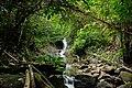 Waterfall in Belumut Mountain, Kluang, Johor, Malaysia.jpg