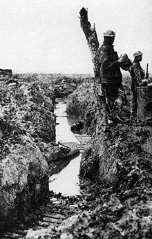Grabenkrieg im Ersten Weltkrieg – Wikipedia