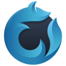 Description de l'image Waterfox Logo (redesigned 2015).png.