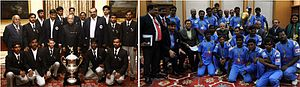 Cricket Association for the Blind in India - Winner s of T20 world cup 2012