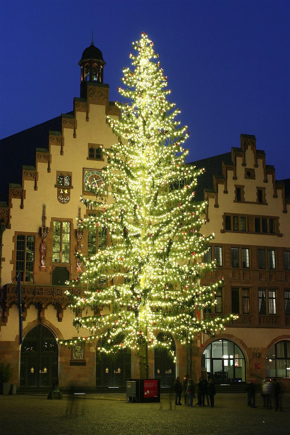 Weihnachtsbaum R%C3%B6merberg