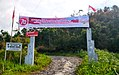 Welcome gate to Damparan Haunatas (Galanggang), Saipar Dolok Hole, Tapanuli Selatan.jpg