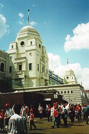 Wembley Stadium (1923) - The twin towers of Wembley Stadium, 1995.