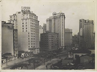 Vista parcial do centro. São Paulo/SP