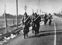 Danish Bicycle Infantry On 9 April 1940
