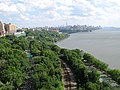 West Side of Manhattan from George Washington Bridge.jpg