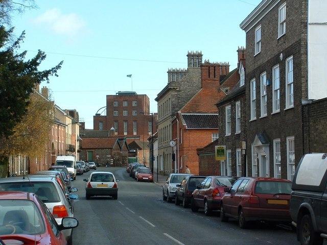 Westgate Street Bury St.Edmunds - geograph.org.uk - 289394