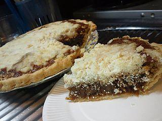 Shoofly pie molasses pie