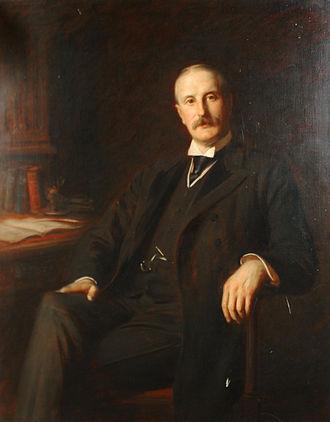 William Walrond, 1st Baron Waleran - William Walrond, 1st Baron Waleran, as painted by Sir Hubert von Herkomer.