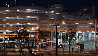 White Plains TransCenter - White Plains TransCenter at night