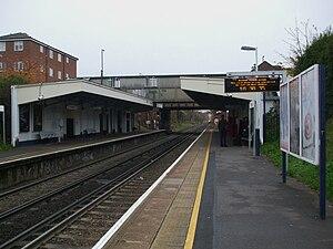 Whitton, London - Whitton railway station
