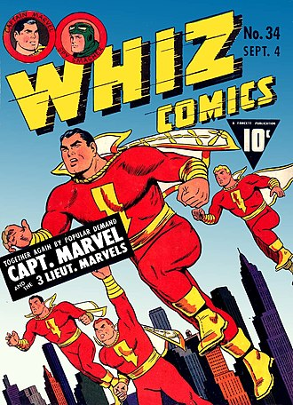 Marvel Family - Image: Whiz Comics No 34