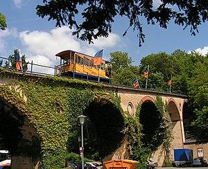 Nerobergbahn - The viaduct.