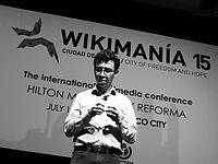 Wikimanía 2015 - Day 4 - Luis von Ahn conference - LMM (35).jpg