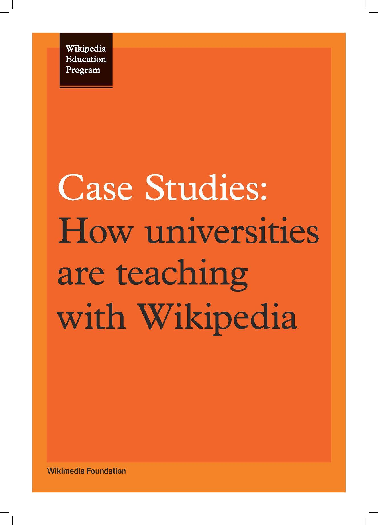 educational case studies journals A journal of the american educational studies association science and technology studies x educational studies: indigenous environmental education: the case.