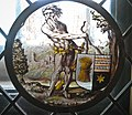 Wild Man Supporting a Heraldic Shield, Lowlands, 1510-1530 (14657018612).jpg