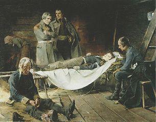 The Death of Wilhelm von Schwerin