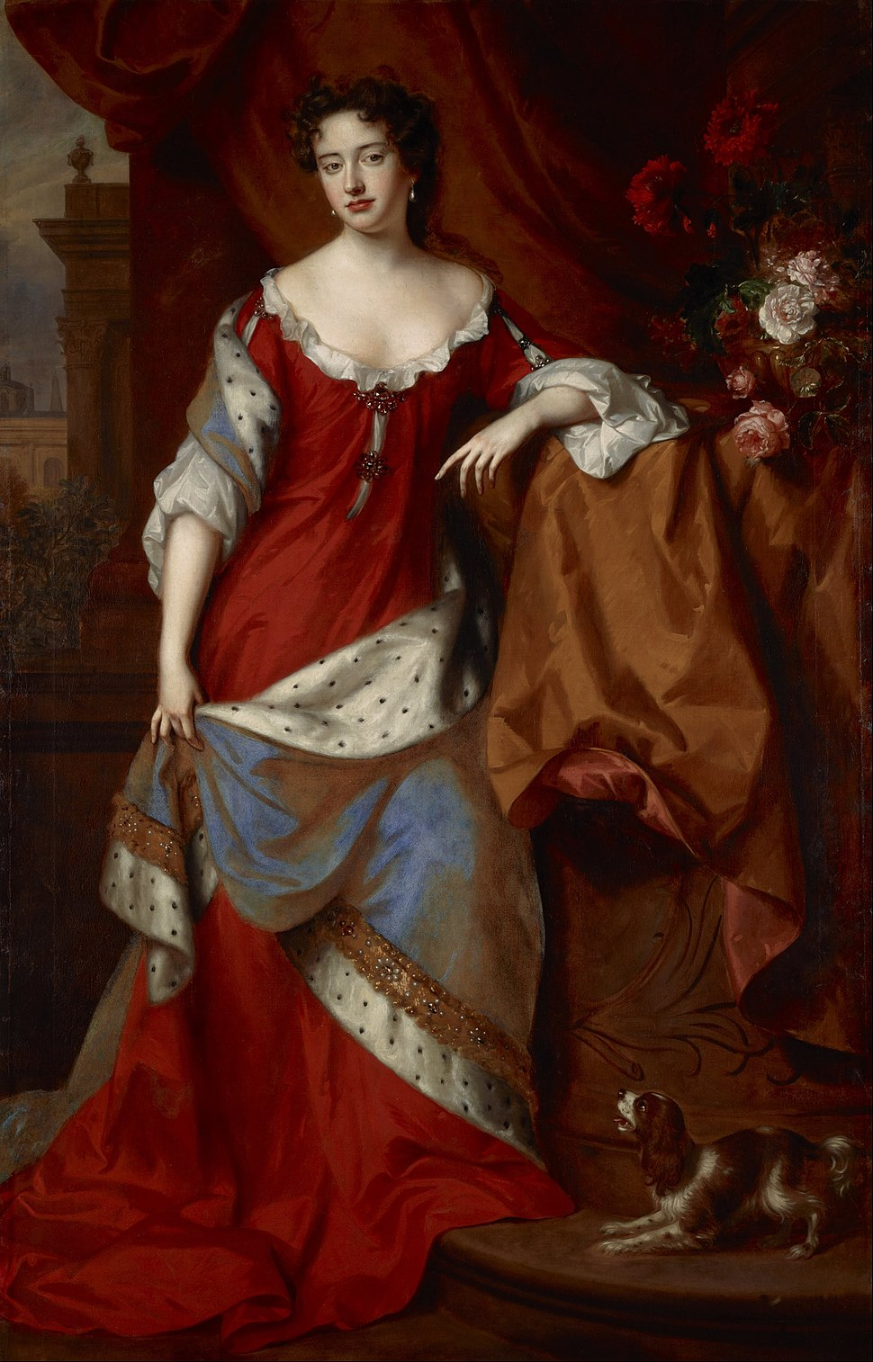 Willem Wissing and Jan van der Vaardt - Queen Anne, when Princess of Denmark, 1665 %E2%80%93 1714 - Google Art Project