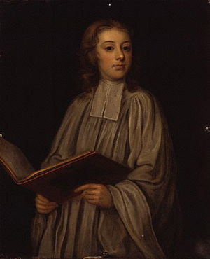 William Croft - William Croft as a choirboy, ca. 1690.