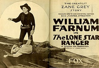 The Lone Star Ranger (1919 film) - contemporary advertisement.
