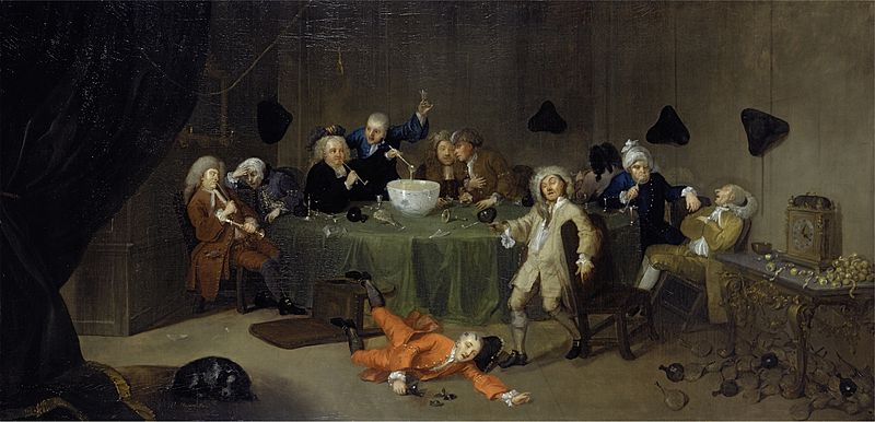 File:William Hogarth - A Midnight Modern Conversation.jpg